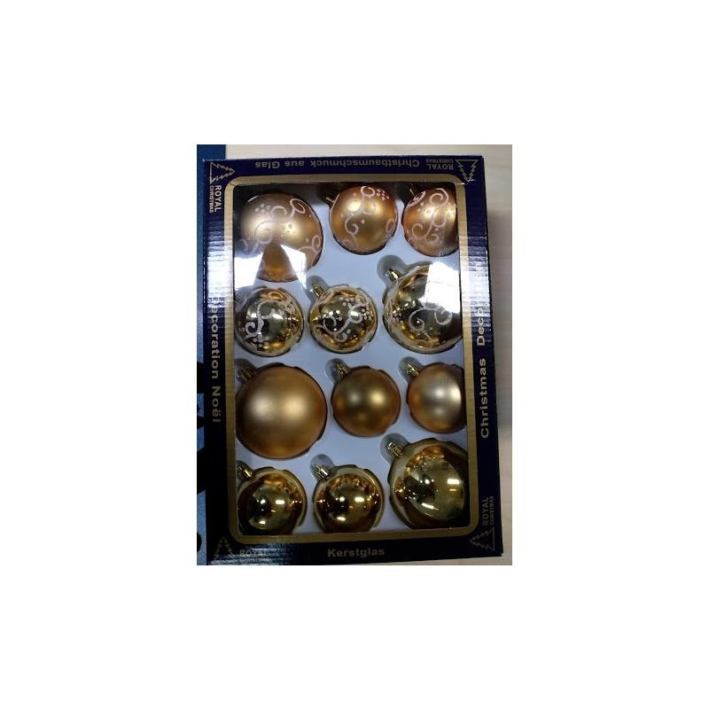 Kuuseehted mix 60&80mm Kuldsed /16