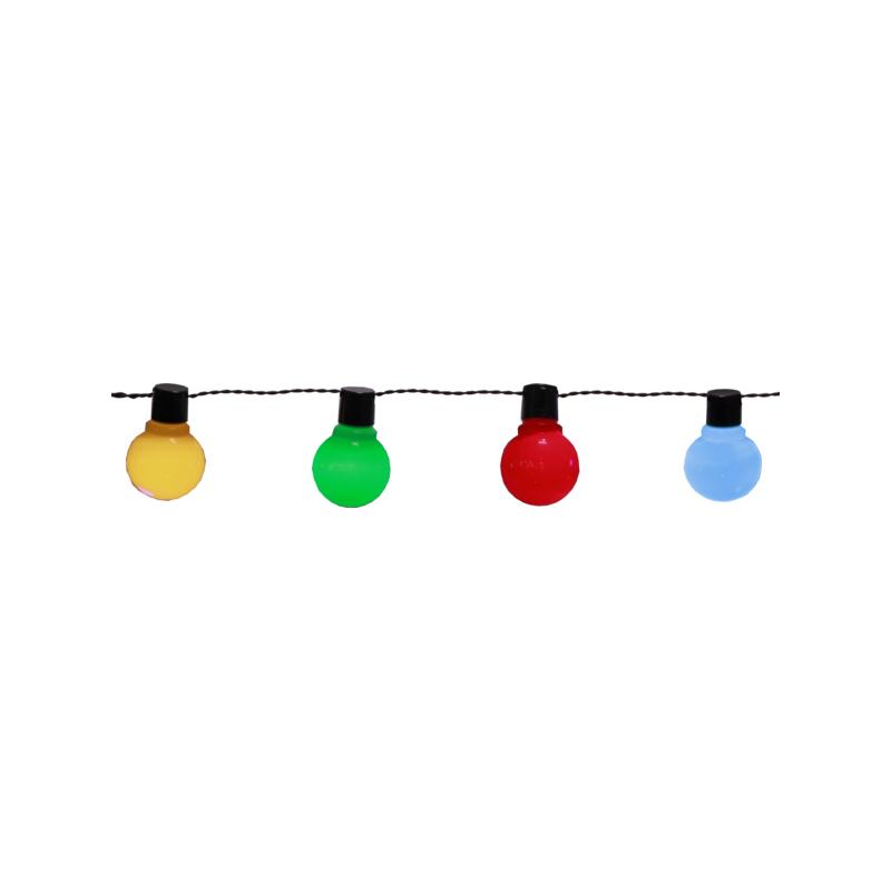 Valguskett Party, 16 värvilist LED tuld, pikkus 4,5m, IP44