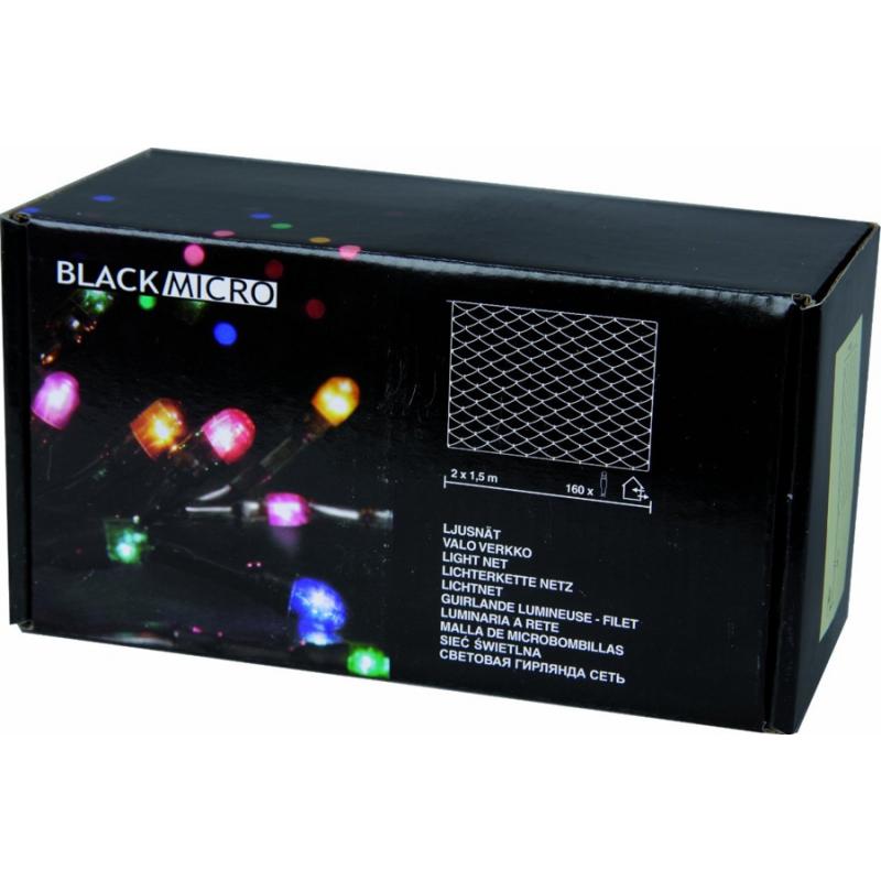 Valgusvõrk Micro 160 multi tuld 2x1,5m IP44