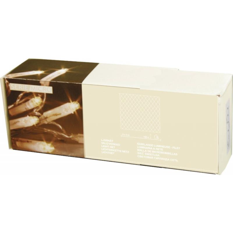 Valgusvõrk Micro 192 valget tuld, 3x3m, IP44