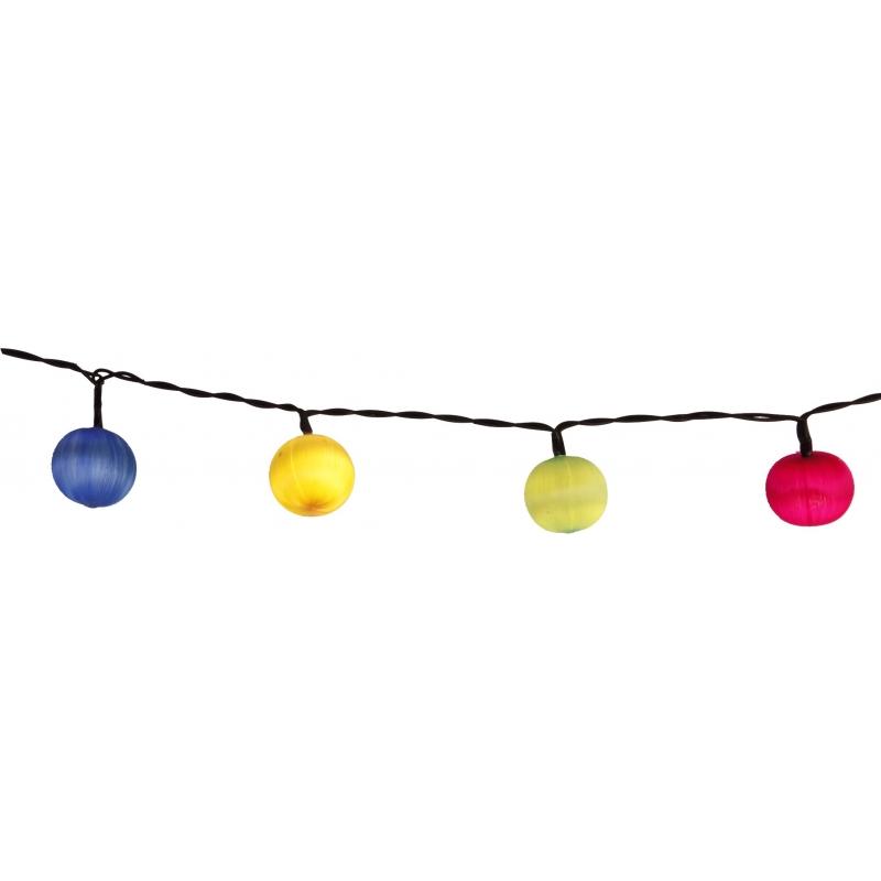 Peotuled tubased 10 LED, 1,35m, tulede vahe 15cm, taimer (6+18h tsükkel), patareitoide (3xAA, mitte kaasas), IP20