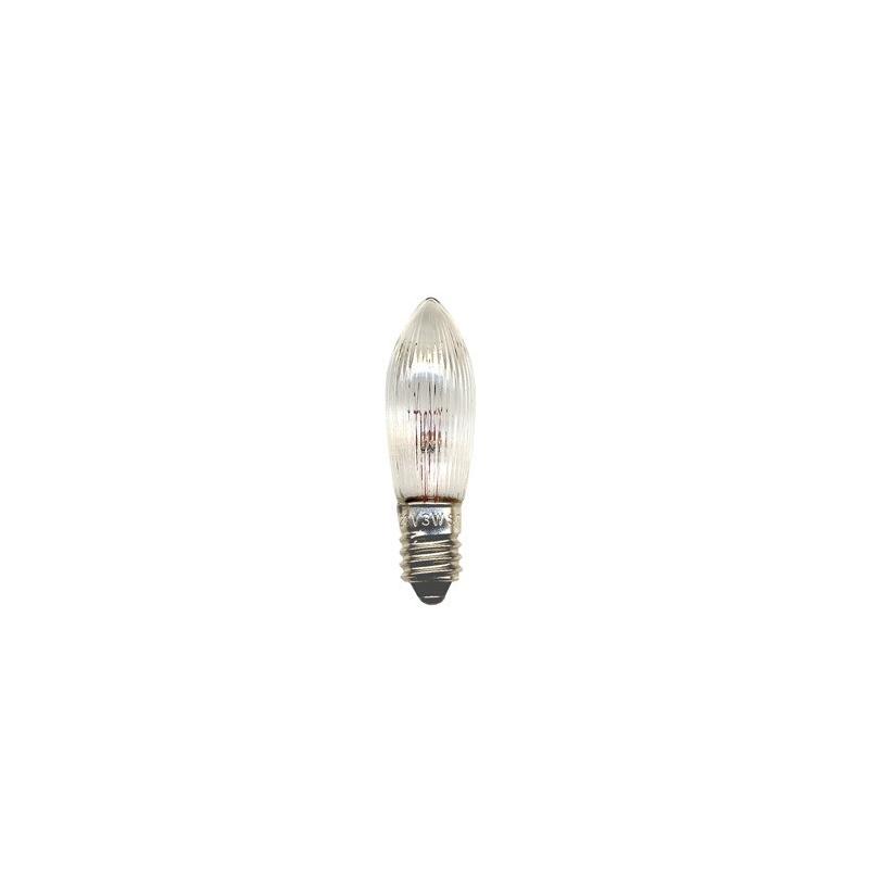 Pirn 34V, 7tk, E10, 3W, läbipaistev, 20/400