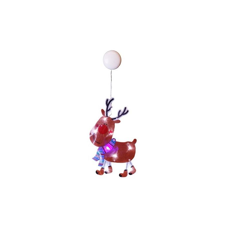 Rudolf 8 LED, 17,5x27cm, patareitoide (3xAA, mitte kaasas), iminapaga, IP20