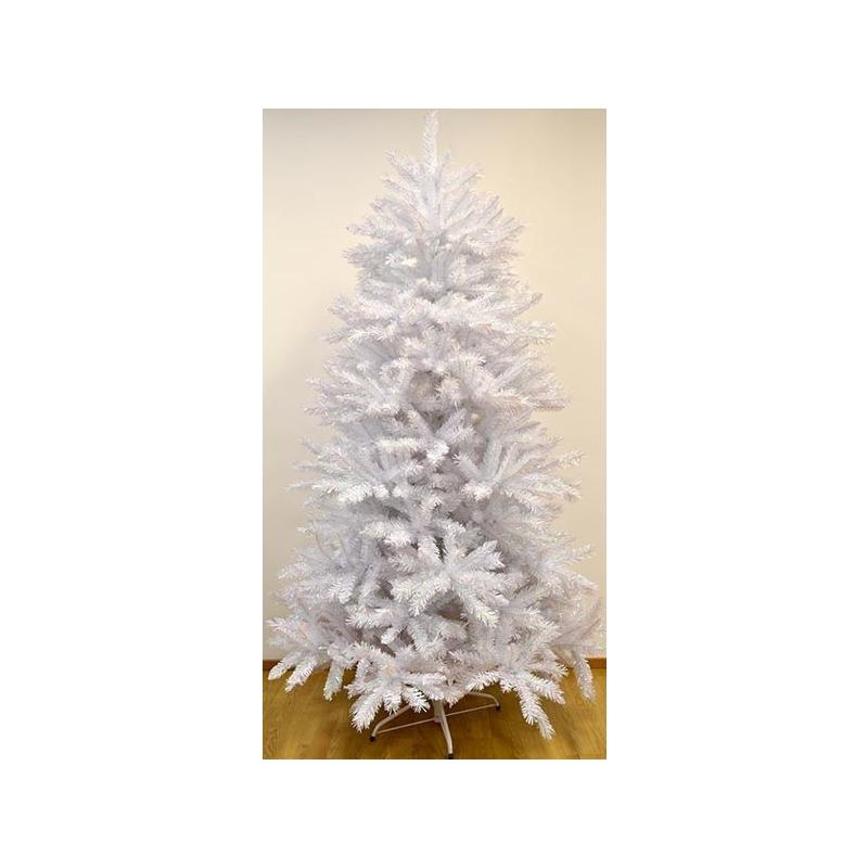 Tehiskuusk valge 195cm, 1084 PVC tippu, hingedega