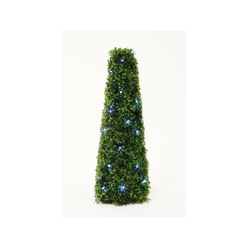 Põõsaspüramiid 60cm 50 valge LED tulega /4