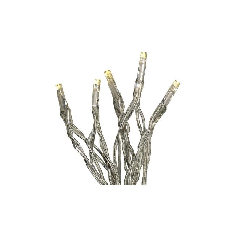 Tuledekett 15 LED, 2,1m soevalge, tulede vahe 15cm, taimer (6+18h tsükkel), patareitoide (3xAA, mitte kaasas), IP20