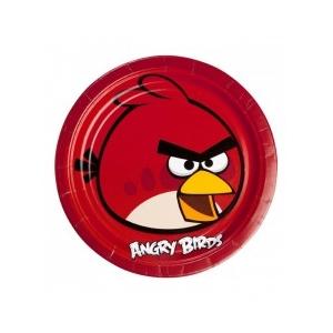 Angry Birds Taldrikud 23cm 8tk/pk.