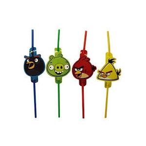 Angry Birds Joogikõrred 8tk/pk.