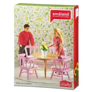 Lundby Köögimööbel roosa