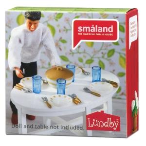 Lundby Söögiserviisi komplekt