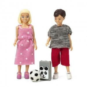 Lundby koolilapsed poiss ja tüdruk