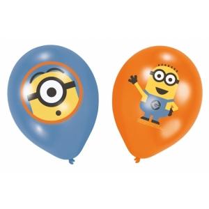 Õhupallid Minions 6tk/27.5 cm/11''