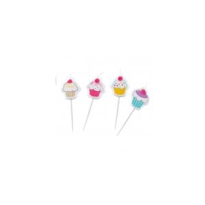 Cupcake Joogikõrred 8tk/pk