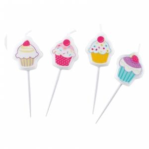 Cupcake Küünlad 4tk/pk