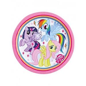 My Little Pony Rainbow Taldrikud 23cm 8tk/pk
