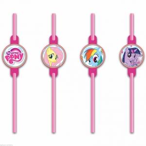 My Little Pony Rainbow Joogikõrred 8tk/pk