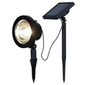 Aiavalgusti, 30 lm, 4 LED, vahe 10cm, päikesepaneeliga, IP44