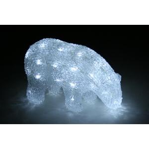 Akrüül Jääkaru, 40 valge LED tulega /8 22*9,5*14cm