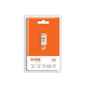 ACME LED 1.5W, 2700K warm white, G4 EOL