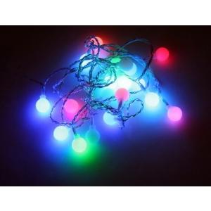 20 LED tulega valguspallid (d. 2cm), isemuutuv värv, pallide vahe 15cm /12