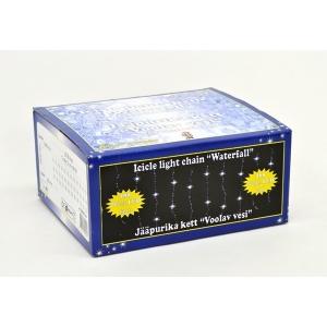 Jääpurika kett Voolav Vesi 288 valge LED tulega, 2,75x0,75m /6