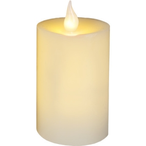 LED (2tk. soe-valge) küünal vahast, valge (3xAAA, ei kuulu kompl) /12 orient. tööaeg 150h, 4,5V DC/0,09W, IP20