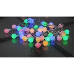 """Valguskett """"Marjad"""". 50 värvilist LED tuld,pikkus 7,35m IP44"""