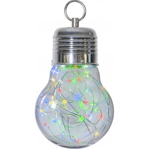 Dekoratsioon Bulby värviline, 30 LED, patareitoide, sisetingimustesse, IP20