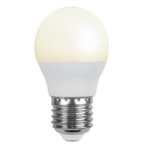 LED Lamp E27, 4,8W=38W, G45, 3000K, 440LM 10/100
