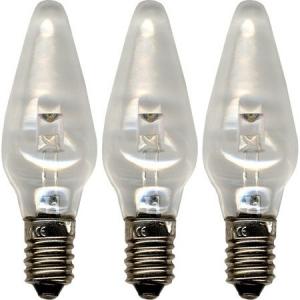 Pirn LED universal 3tk, 10-55V, E10, läbipaistev 20/400