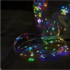"""Valguskett """"Kastetilgad"""". 125 LED tuld. Multi, pikkus 5m, IP20"""