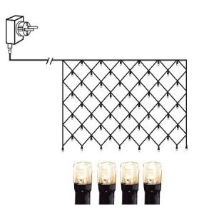 Valgusvõrk MicroLED, 2*1m, 160 LED tuld, tulede vahe 10cm, 230V-31V DC, IP44