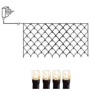 Valgusvõrk MicroLED, 3*1,5 m, 320 LED tuld, tulede vahe 10cm, 230V-31V DC, IP44