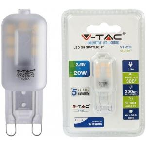 LED lamp G9/2,5W/200lm