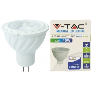 LED lamp GU5.3/6,5W/450lm
