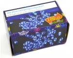 100 LED tulega kett, sinine, tulede vahe 15cm