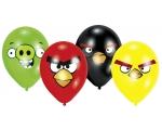 "Õhupallid Angry Birds 8tk/25,4cm/10"""