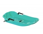 Sled Glamax Sno Glider turquoise with brakes