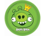 Angry Birds Taldrikud18cm 8tk/pk.