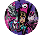 Monster High 2 taldrik 23cm/8tk.