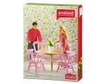 Lundby Kitchen furniture pink
