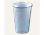 Drinking cup 0,2l 7,03x9,9cm PS white 25pcs.