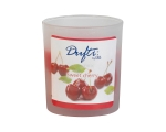 Scented candle in satin glass 77 x 70 mm Cherry / 4
