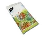 "Flower shaded tablecloth 120x180cm Airlaid ""like cloth"","