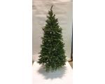 Artificial spruce 210cm PVC 1583 top, lower branch circle diam 105cm, metal leg