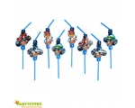 Blaze MonsterMachines Joogikõrred 8tk/pk