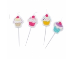 Cupcake Candles 4pcs / pack