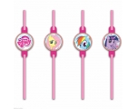 My Little Pony Rainbow Joogikõrred 8tk/pk