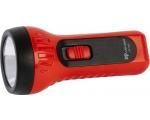 LED flashlight + batteries 3XAA EOL