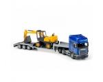 Scania trailer 70cm and excavator 30cm